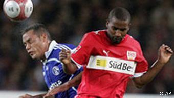 Bundesliga 9. Spieltag VfB Stuttgart gegen FC Schalke 04