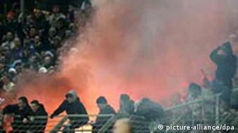 Fußball, Hooligans, Rostock