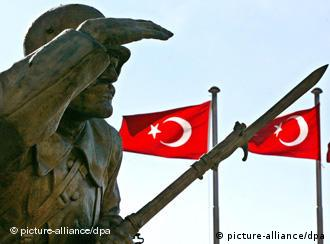 A military monument in Turkey