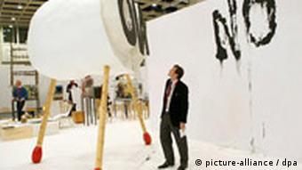 Art work at Art Cologne
