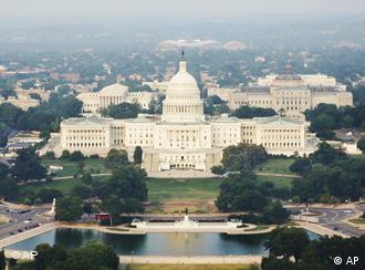 Capitol Hill mit dem Kongress-Gebäude in Washington