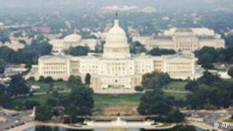 US Capitol Building in WAshington, the seat of Congress