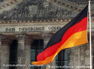 The dome of the Reichstag in Berlin
