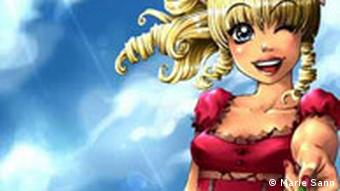 Manga Comic Figur von Marie Sann