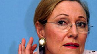 EU External Relations Commissioner Benita Ferrero-Waldner