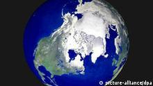 Erdkugel, globale Erwärmung