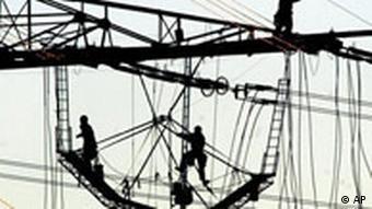 Europa Stromausfall Deutschland