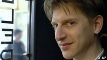 ** FILE ** In this undated recent photo provided by French publishing house Gallimard, American novelist Jonathan Littell in is seen in Paris. The French prestigious Goncourt literary prize was awarded Monday, Nov. 6, 2006 to Littell for his book Les Bienveillantes ( (The Kindly Ones). The 103-year-old Goncourt guarantees literary acclaim and high sales for an author. Past winners include Marcel Proust, Simone de Beauvoir and Marguerite Duras. (AP Photo/Gallimard/HO) ** NO SALES **