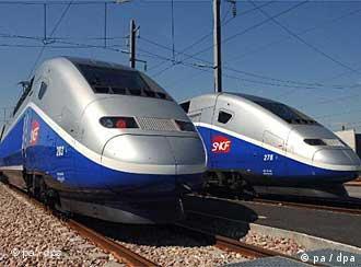 France's new TGV's will lead the new push to modernize Europe's railways