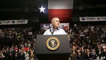 Wahlkampf in den USA George Bush in Texas