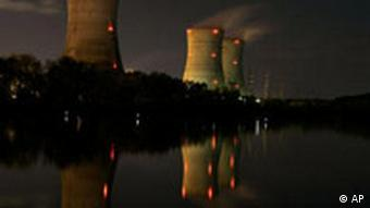 Cooling towers of the Three Mile Island nuclear power