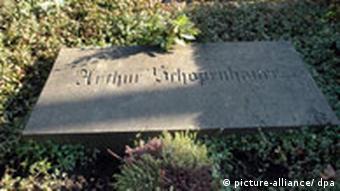 مقبره شوپنهاور در فرانکفورت