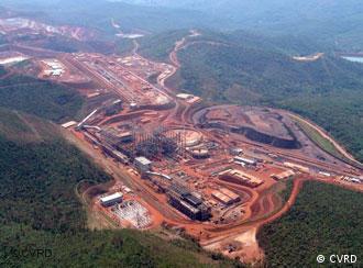 Brucutu (MG), maior mina de ferro do mundo