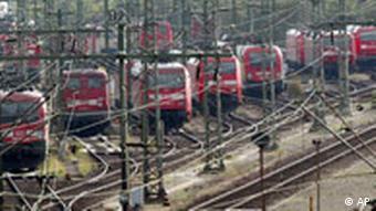 Der Koalitions-Arbeitskreis zur Bahn-Privatisierung hat am Mittwoch 8. November 2006 eine Einigung erzielt
