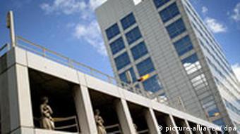 Gebäude des Internationalen Strafgerichtshofs in Den Haag, Quelle: AP