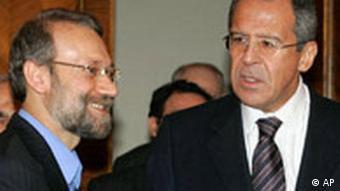 Iran Atom Laridschani bei Sergej Lawrow in Moskau Russland
