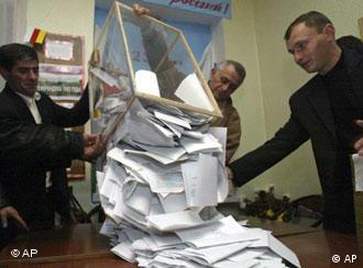 На выборах в Южной Осетии