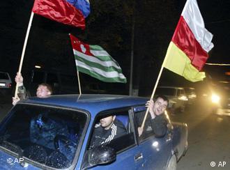 Güney Osetya Gürcistan'dan ayrılmak için referanduma gitmişti