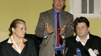 Deutschland USA Irak Janis Karpinski zu Rumsfeld Pressekonferenz
