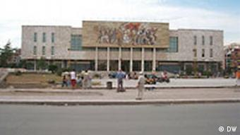 National-Museum in Tirana, Albanien