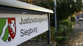 The detention center in Siegburg, western Germany