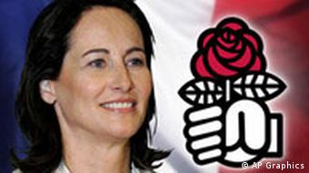 Segolene Royal, former French environment minister and Socialist Party presidential candidate