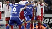 Fußball Bundesliga Saison 2006/07 FC Energie Cottbus - FC Schalke 04