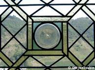 Средневековые окна со стеклами