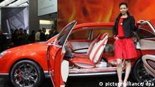 Messe Auto China in Peking VW Konzeptauto Neeza