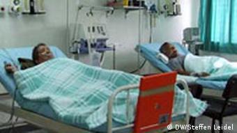 Patienten in einem Spital