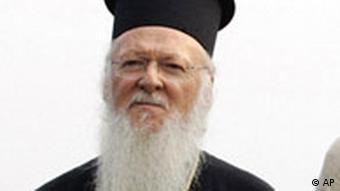 Türkei Patriarch Bartholomäus I.