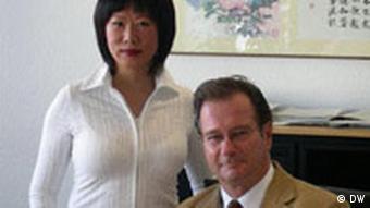 Klaus Kinkel und Zhu van Elten