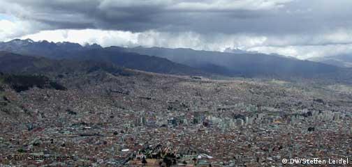 Bolivien Sturm