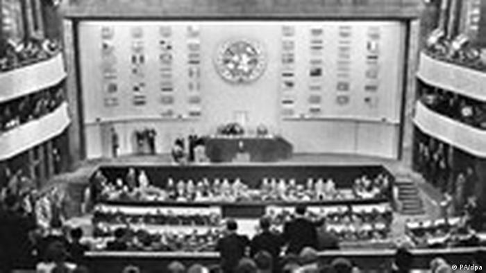 UN verabschiedet Menschenrechtskonvention