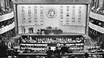 UN adopts the Universal Declaration of Human Rights in 1948 (PA/dpa)
