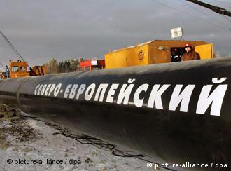 Pipeline im russischen Babajew