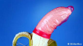 Banane mit Kondom