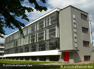 Bauhaus en Dessau, Patrimonio de la Humanidad.
