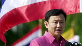 Thaksin Shinawatra während seines Drogenfeldzuges 2003