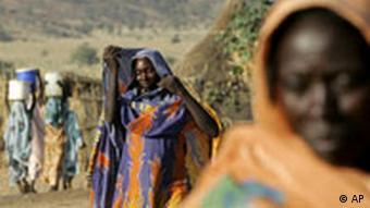 Flüchtlinge aus Dafur(Foto:ap)