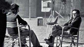 Pasolini auf dem regiestuhl (Foto: IDFA)