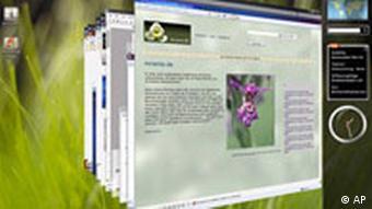 Microsoft Betriebssystem Windows Vista Screenshoot