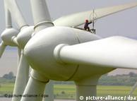Estos rotores Enercon, del tipo E-66, tienen un diámetro de 66 metros.
