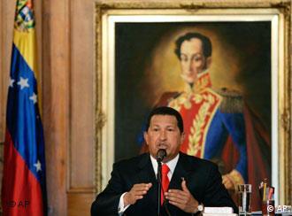 El Gobierno venezolano ordenó abrir el sarcófago del héroe independentista el viernes (16.7.2010)