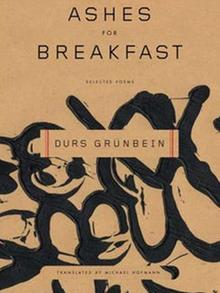 Buchcover Durs Grünbein: Ashes for Breakfast