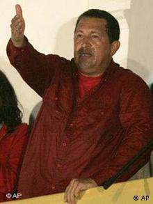 Der venezolanische Präsden Hugo Chávez (Archiv), Quelle: AP