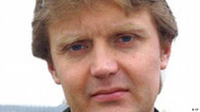 Jahresrückblick November 2006 Großbritannien Alexander Litwinenko im Krankenhaus in London