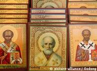 Imagen del Santo Nicolaus de Anatolia, Turquía.