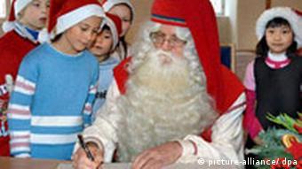 Finnischer Weihnachtsmann Joulupukki