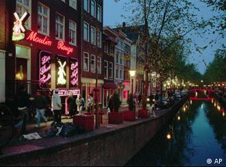 Red Light District u Amsterdamu